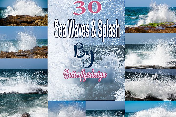 30 Sea waves & Splash