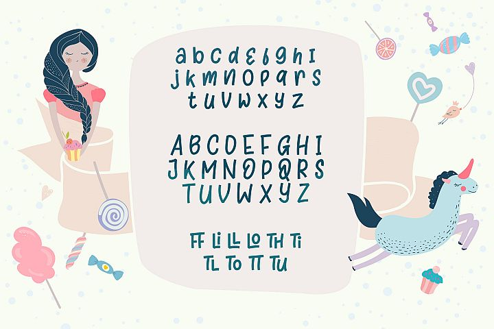Sugar Hut - Free Font of The Week Design 2