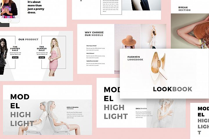 Fashion Lookbook Keynote Template
