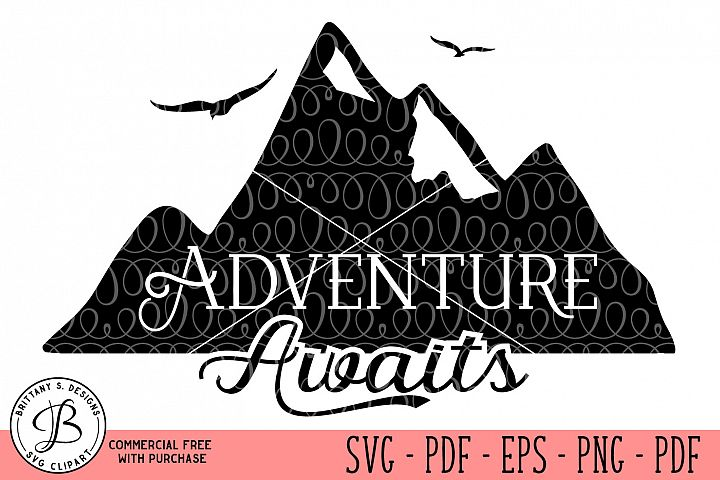Adventure Awaits SVG