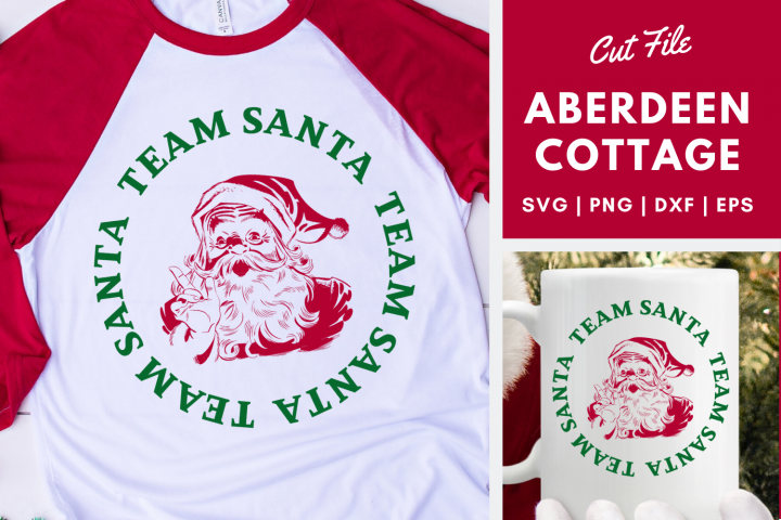 Team Santa - Christmas SVG | PNG | DXF | EPS