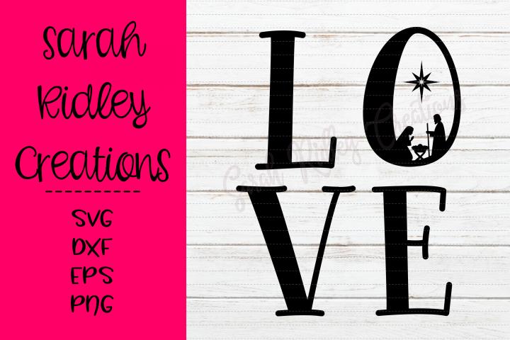 Nativity Love SVG File