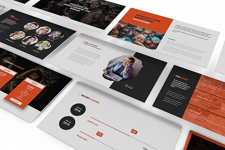 Charity Keynote Template