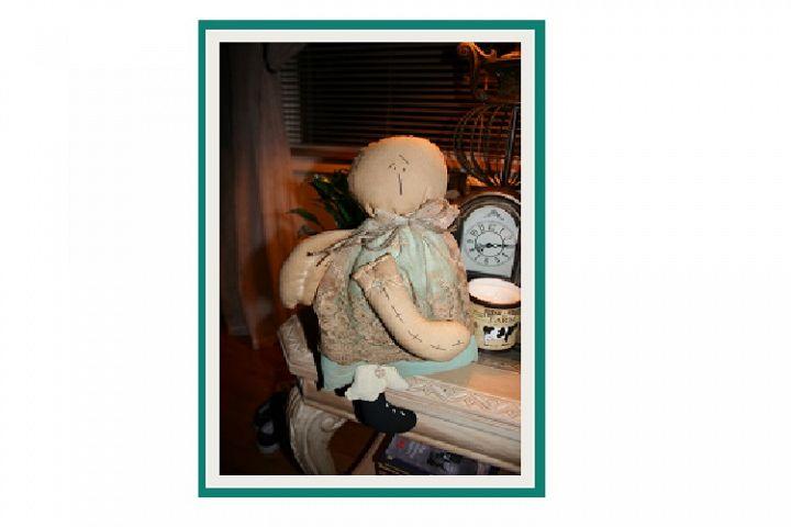 16 Primitive Rag Doll Pattern