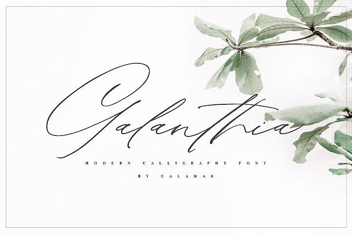 Galanthia Script