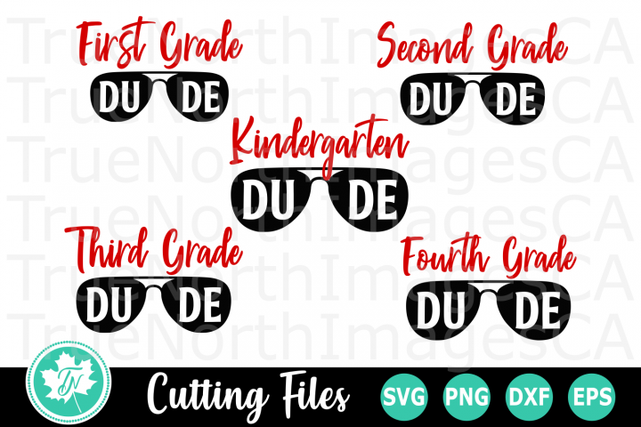 School Dude - A School SVG Bundle
