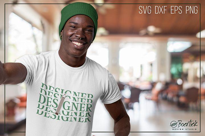 Designer SVG cut file