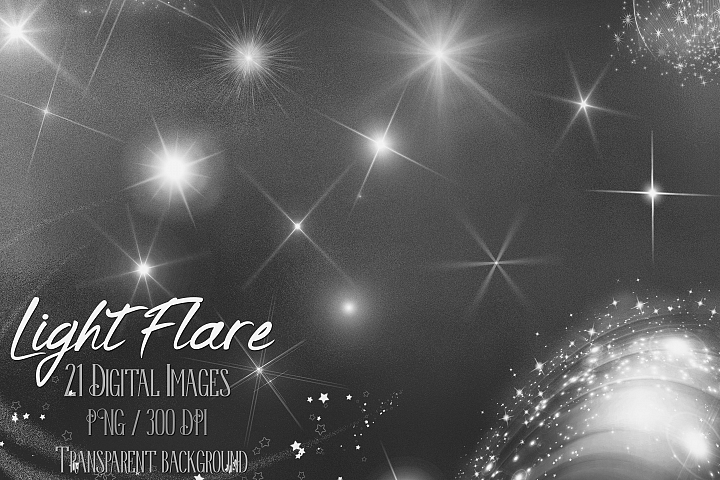 21 Glowing Light Flare Overlay Digital Image PNG Transparent