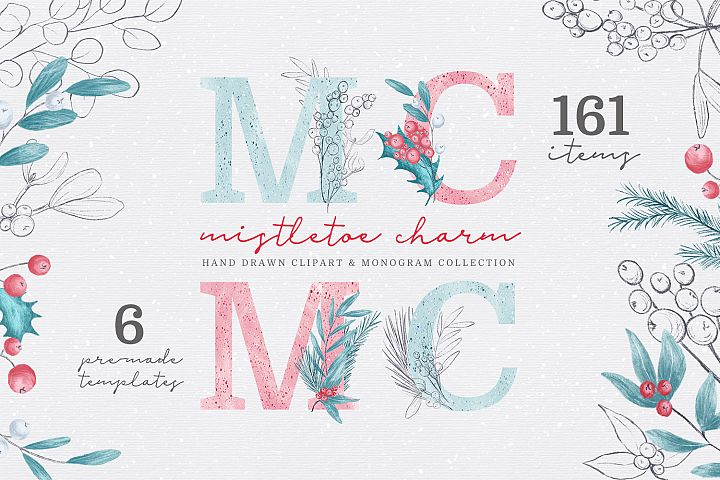 Mistletoe Charm Collection