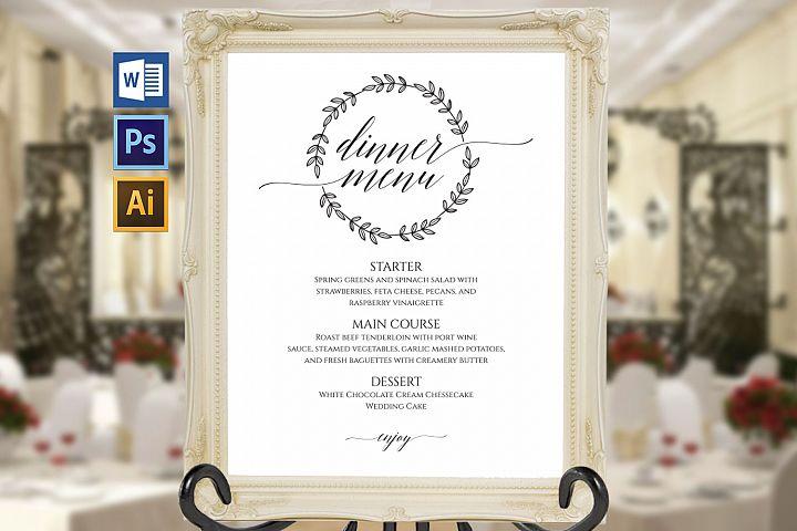Wedding Menu Board TOS_18