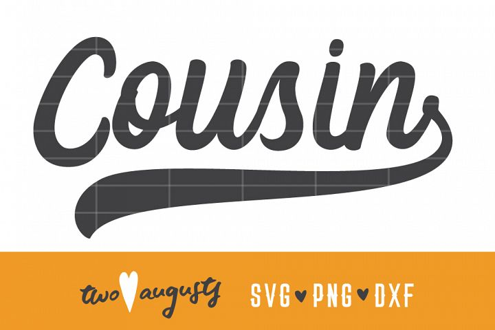 Cousin, Baseball, baby, SVG, DXF, PNG \\ birth announcement