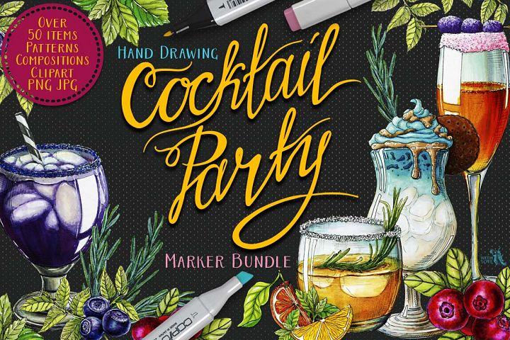 Cocktail Party Marker Bundle