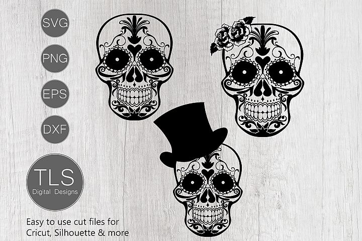 Day of the Dead SVG, Sugar Skull SVG