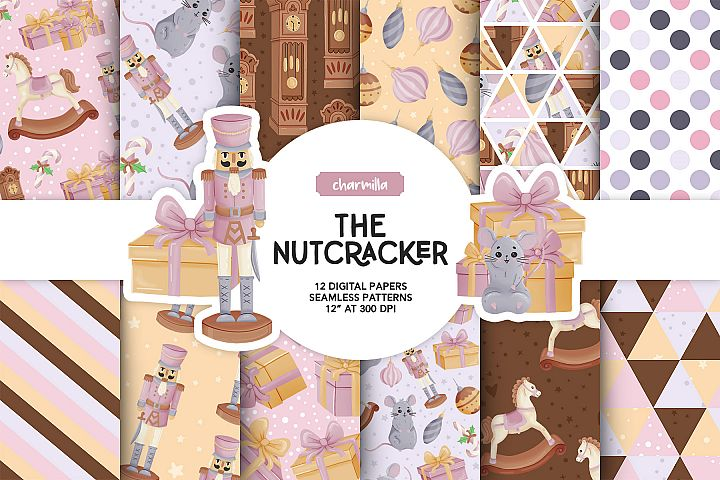 The Nutcracker Digital Papers