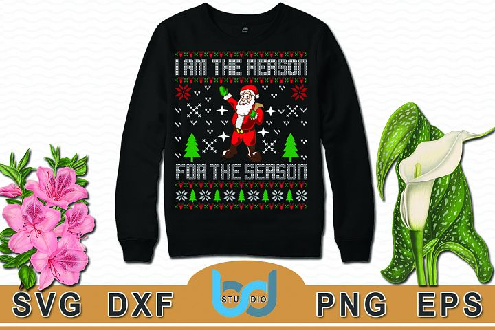 Ugly Christmas Sweater And T- Shirt