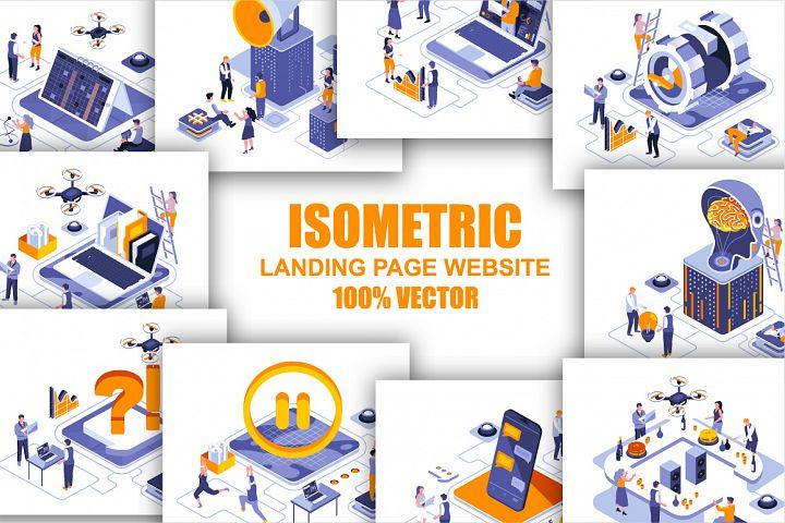 Bundle Isometric 3D Illustration