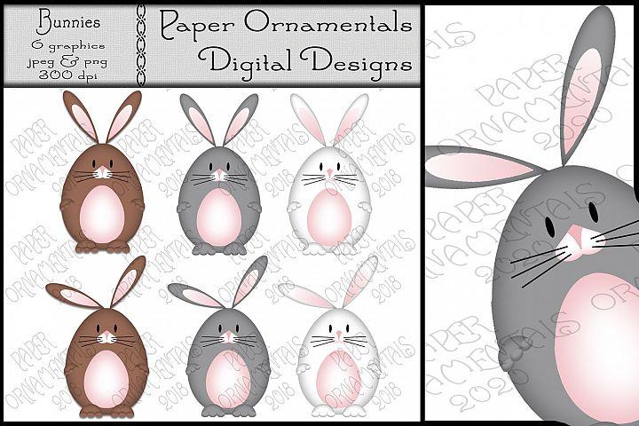 Easter Clip Art, Easter Bunnies