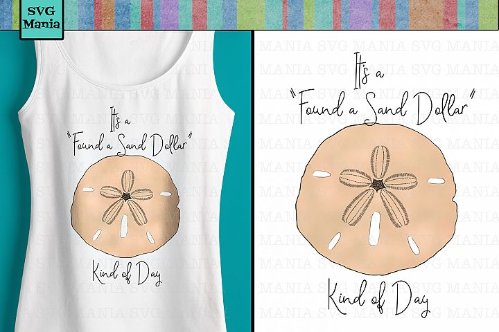 Sand Dollar Sublimation File, Beach Sublimation PNG