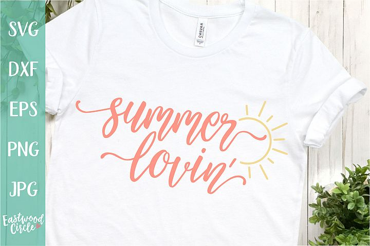 Summer Lovin- A Summer SVG File for Crafters