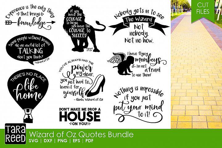 Wizard of Oz Quotes Bundle