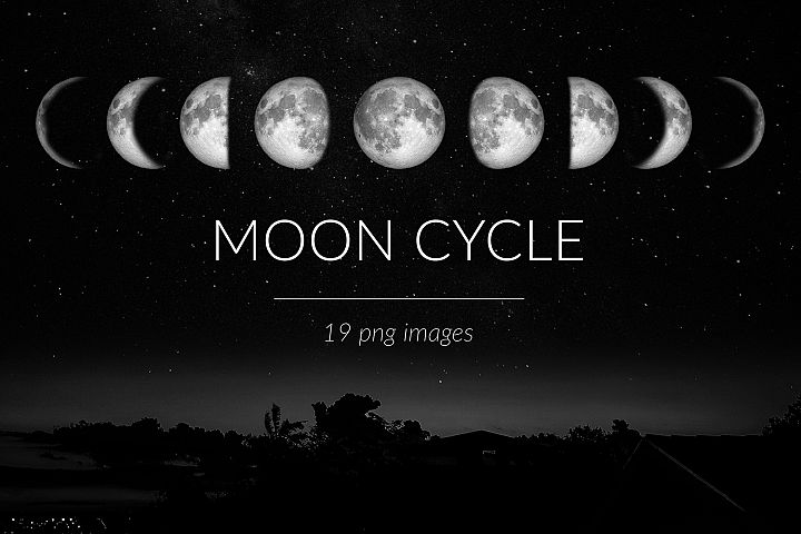 Moon Cycle Photo Pack