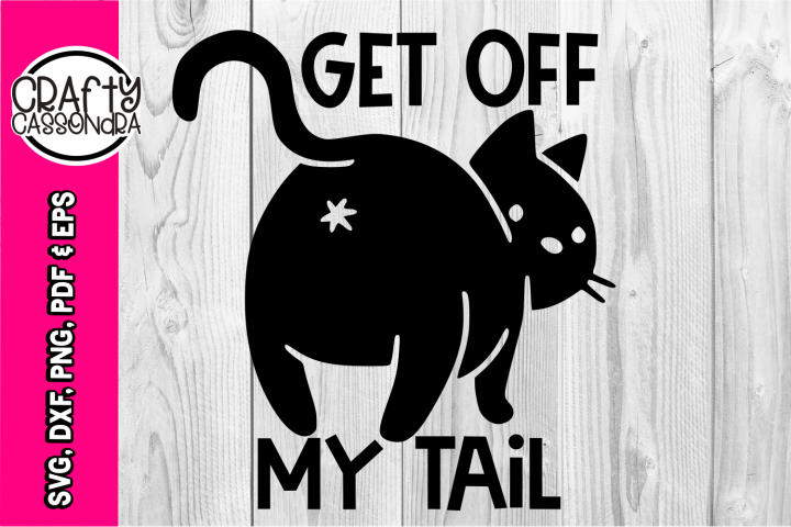 SVG - Cat svg - cat silhouette - funny cat butt - car decal