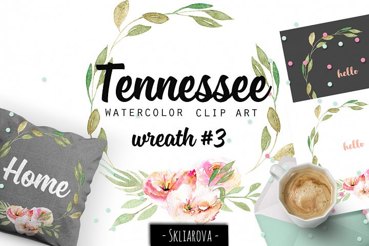 Tennessee. Wreath #3