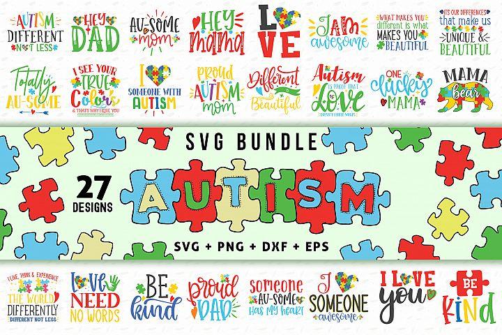Autism SVG Bundle