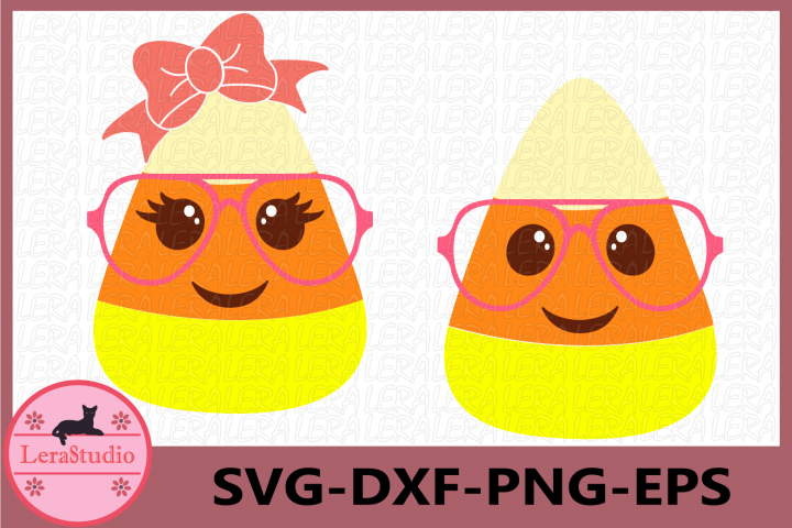 Candy Corn Cutie SVG, Halloween Clipart SVG, Candy Corn