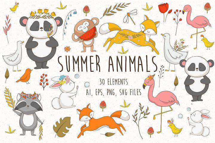 Summer Animals