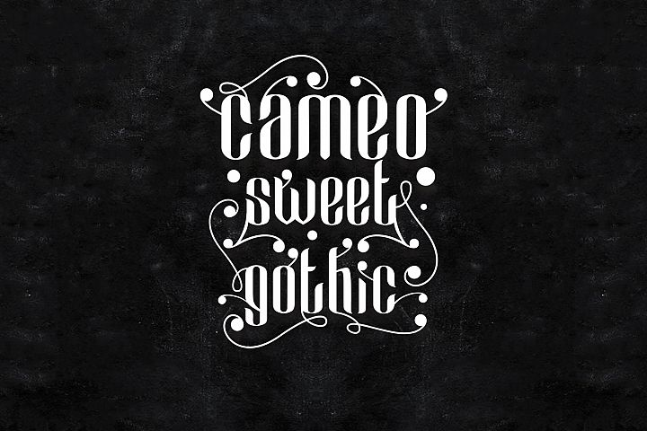 Cameo Sweet Gothic