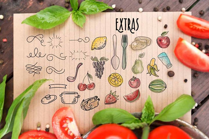 Recipe Daily - Free Font of The Week Design4