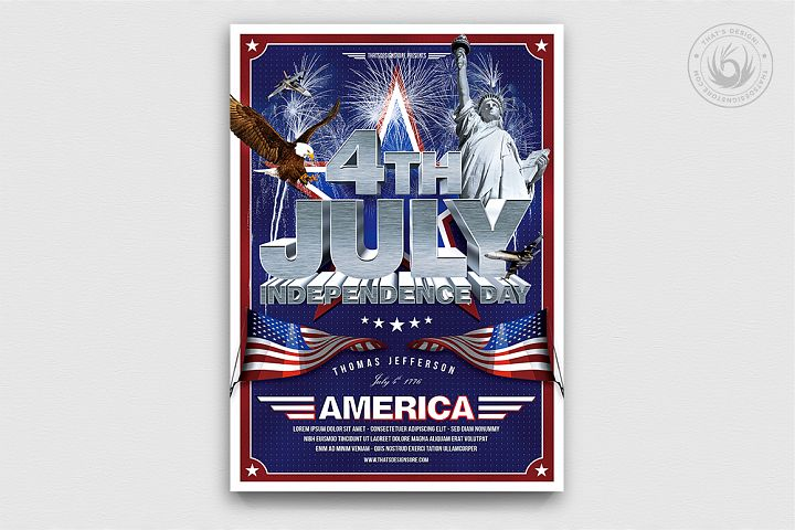 Independence Day Flyer Template V1