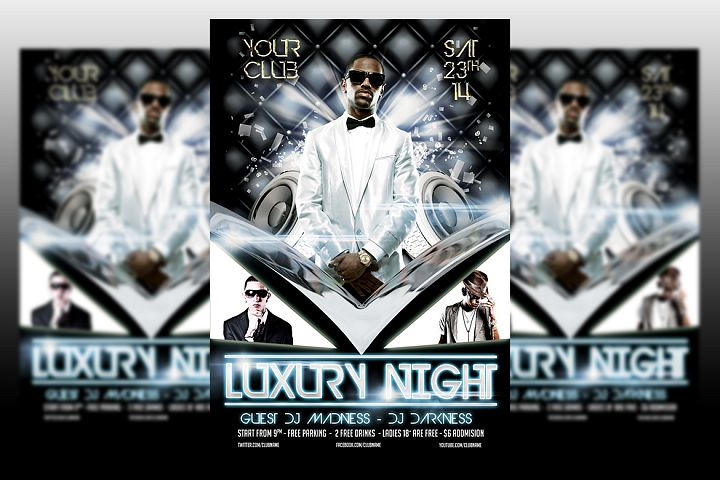 Luxury Night Party Flyer Template