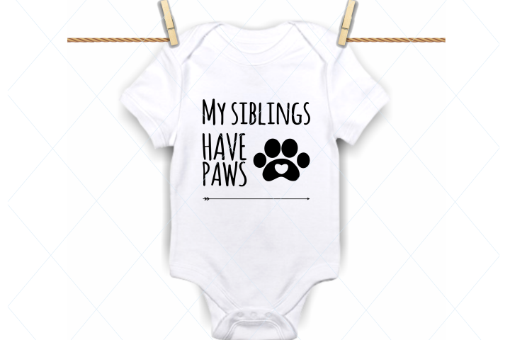 My siblings have paws svg, siblings svg, brother, sister svg