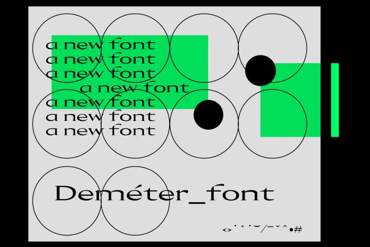 Demeter Font