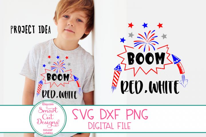 4th Of July SVG, Fireworks SVG, Boy SVG, Funny Kids SVG, DXF
