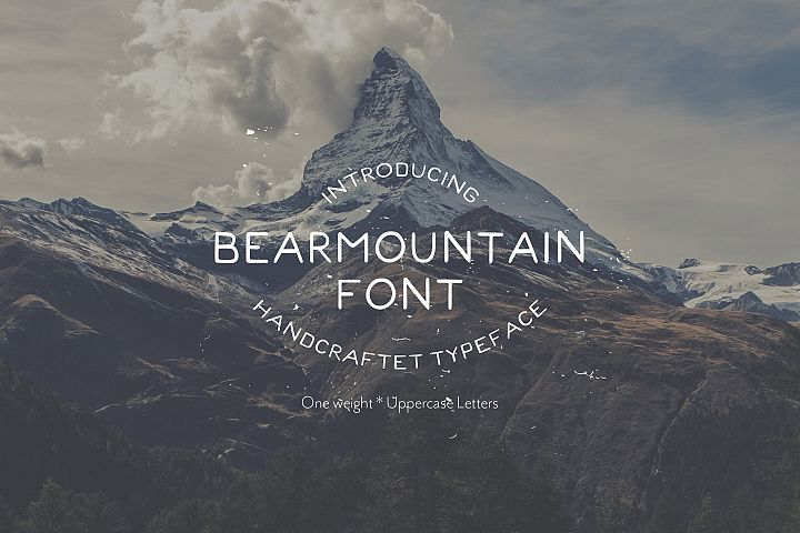 Bearmountain - Handmade Font