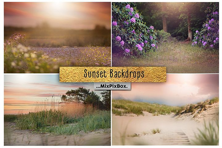 Sunset Backdrops