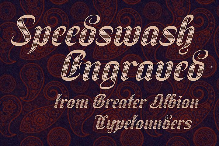 Speedswash Engraved