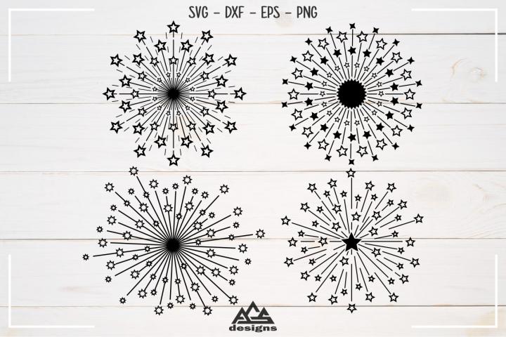 Starburst Packs Svg Design