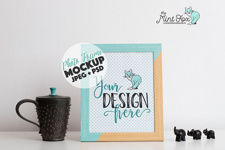 Wooden Frame Mockup | Welcome Sign Mock Up