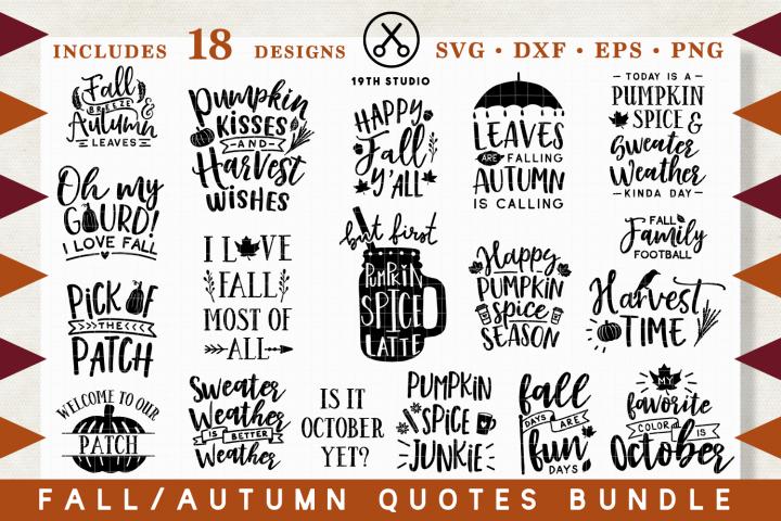 Fall | Autumn SVG Bundle - MB29