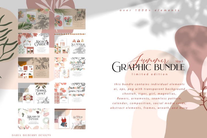 Summer GRAPHIC bundle