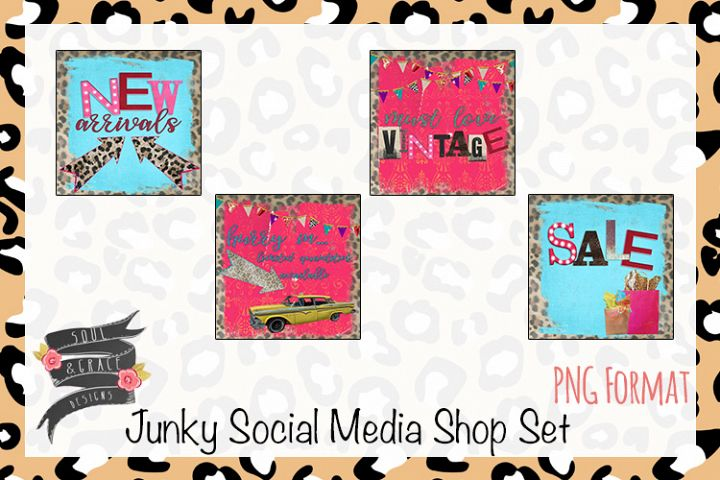 Junky Social Media Shop Set
