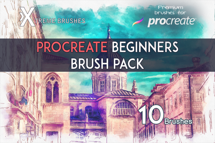 Procreate Beginners Brushpack!