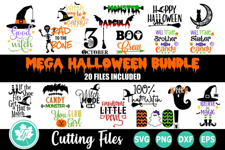 Halloween Bundle - A Halloween SVG Cut File