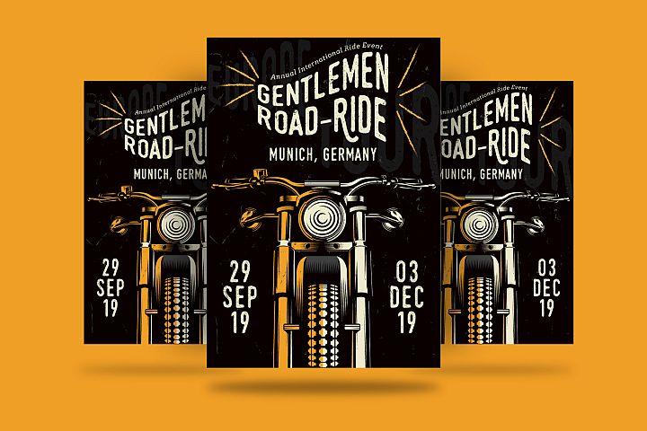 Gentlemens Ride Flyer