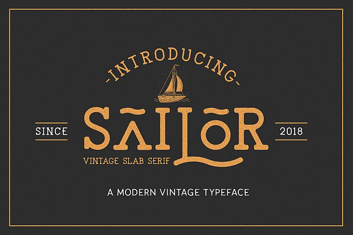 The Sailor Typeface