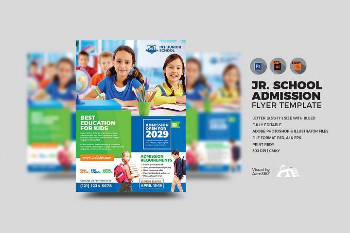 Junior School Admission Flyer